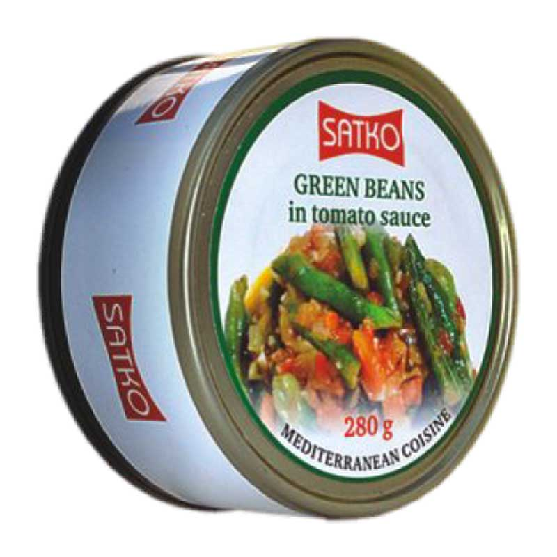 Haricots verts en sauce de tomates 280g